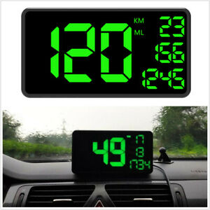C1090 6.2in HUD Head Up Display Car GPS Speedometer Overspeed Alarm System
