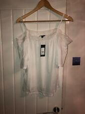 New Look Blanco Top Talla 18 BNWT