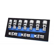 "Astro 74310 Chrome 6-Point Metric 3/8"" Drive 10-Piece Flex Socket Tool Set"