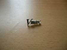 Pin Anstecker Yamaha Vmax V-Max Logo Schriftzug Motorrad Art. 0320 Motorbike