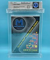 LOCK N CHASE  - WATA 8.5  A++   for  Atari 2600 - NEW - SEALED - GRADED - MATTEL