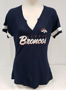 Brand New Women's Majestic NFL Denver Short Sleeve Shirt