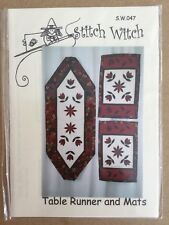 a4deddafc Quilting Pattern Table Runner Stitch Witch 047