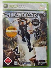Xbox 360 Game Shadowrun usk18 Sealed, USED BUT GOOD