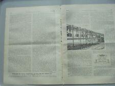 1900 59 Paris Weltausstellung Förderbänder Wilhelm Keck aus Kniestedt Hannover