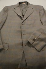 Borrelli Sport Coat Current Working Cuffs Hand Stitching Men's 42