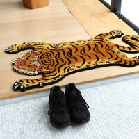 TIBETAN TIGER RUG LARGE Size wuth 2 color selection New