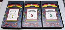 DIE SCHONSTEN LIDER DER ALPEN - 3 VHS SET GERMAN MUSIC VIDEO - NICE!
