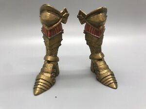 Legs Feet Boots Calavius Armor Gold Knight Builder Mythic Legions parts fodder