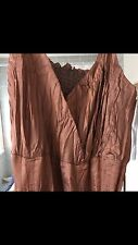 principles Evening dress  Size 8 looks Like Copper Crinkled Pleated Tafater