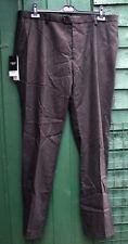 "NEXT Tailoring Brown Wool Blend Slim Fit Mens Trousers 52 Wool W 38 L 33"" MWT"