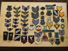 Large Lot of Military Patches, Medals, Buttons And Ribbons - 217 Plus Pieces