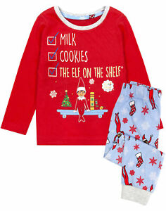 Elf On The Shelf Pyjamas Kids | Christmas Pj's for Boys & Girls