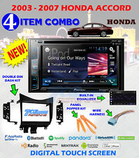 2003-07 HONDA ACCORD PIONEER CD/DVD BLUETOOTH GPS NAVIGATION USB APP MODE RADIO