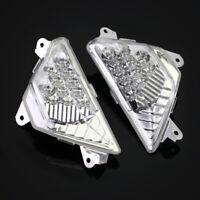 Front LED Turn Signals Light For KAWASAKI NINJA 250/300/400/650/1000 NINJA ZX-6R