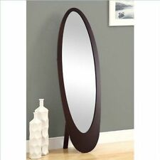 Brown Oval Contemporary Home Décor Mirrors | eBay