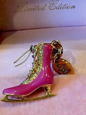 JUICY COUTURE Limited Edition 2008 Pink Fuchsia Ice Skate Charm SUPER RARE