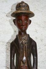 Statuette colon africaine ancienne - Old African colon statuette