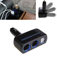 Dual USB 3.1A Car Cigarette Lighter Socket two way Cigarette hole car charger