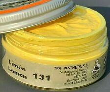 Lemon Color Shoe Polishing Cream Leather Care TRG the One 50 mi Boots Bags