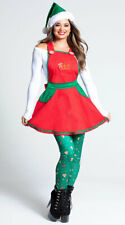 Womens Elf In Charge Costume