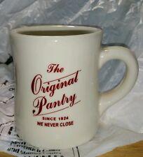 New Original Pantry Diner Mug Coffee Tea Cup Heavy Ware Historic L.A Restaurant