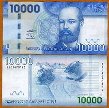 Chile, 10000 (10,000) Pesos, 2011, P-164-New, UNC