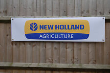 New Holland Agriculture Tractor shed Banner Display pvc sign