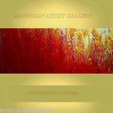 EXTRA LARGE 24x60 Abstract Impasto Original Painting Modern Art by Thomas John