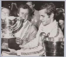 Jacky Ickx Racing Driver Original Wirephoto 7x8 Very Good Condition