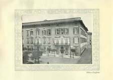 1920 Italy Credito Italiano Office At Leghorn