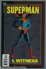 Superman: 80-Page Giant #3 2000 I, Witness Faerber Justiniano Lim Bagley Lee DC