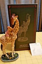 Boyds Bearstone Collection Molly and Gertie Just the Way You Are 4015181 Giraffe