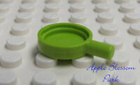 LEGO Lime GREEN FRYING PAN - Friends Minifig Kitchen Food Skillet Stove Dish Pot