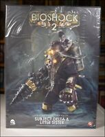 THREEZERO BIOSHOCK 2 SUBJECT DELTA AND LITTLE SISTER FIGURE 1:6 SCALE DELUXE