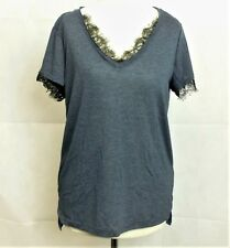 Next Navy Lace T-Shirt Size UK 6 rrp £12 DH079 ii 30