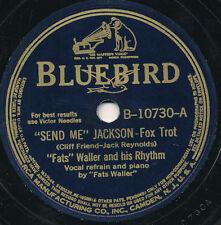 "78 14BB - JAZZ - BLUEBIRD 10730 - ""FATS"" WALLER AND HIS RHYTHM"