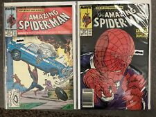 The Amazing Spider-Man #306-307, Marvel Comics, 306 is a Superman Cover Swap