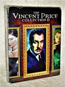 Vincent Price Collection 2 (Blu-ray, 2020, 4-Disc) House on Haunted Hill Raven
