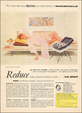1960 vintage AD RELAX A CIZOR Reduce Hips, waist, more strap on  061016