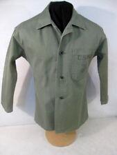 WWII USMC P1941 HBT Herring Bone Twill Combat Jacket or Shirt Uniform Sz 36 NICE