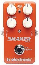 TC Electronic*Shaker Vibrato*TonePrint Tremolo Guitar Effect Pedal FREE 2DAY NEW