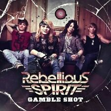 REBELLIOUS SPIRIT - GAMBLE SHOT  CD  10 TRACKS HARD ROCK  NEU