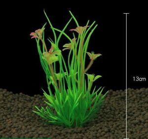 Artificial Plastic Plant Ornament Aquarium Fish Tank Water Grass Decoration Tree