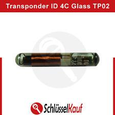 ID 4C Texas TP02 Glass Transponder Chip Texas Fixed 4C für FORD Neu uncodiert