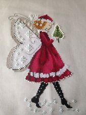 Cross stitch chart Joan Elliott grafico Pixie da Giardino Motivo campionatore solo Grafico