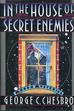 In the House of Secret Enemies by George C. Chesbro-1st Ed./DJ-Mongo Mystery