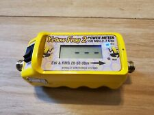 Yellow Frog 2 Rugged Power Meter**TELECOM/ELECTRICIAN***