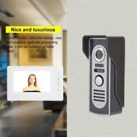 """Kit Videocitofono familiare Telecamera HD Monitor 7"""" Video e Foto Monitor st1"""