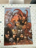 SLAYER Vintage Wall Poster 1991